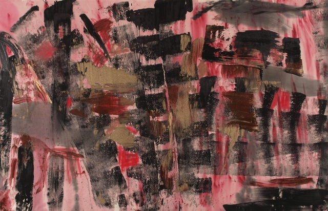, 'Fishnet,' 2014, Walter Wickiser Gallery
