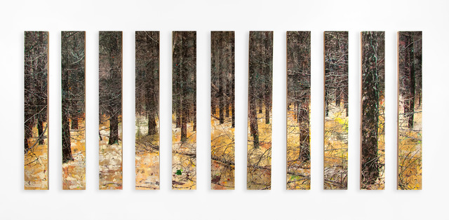 , 'between the lines,' 2018, e.artis contemporary