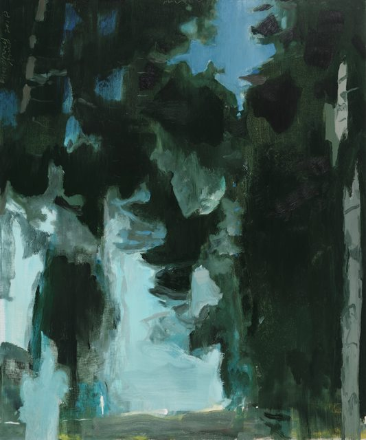 , 'Pinewood Nocturne no. 1,' 2018, DC Moore Gallery