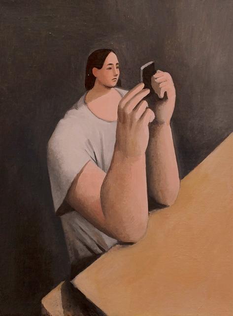 , 'Checking Instagram,' 2018, Massey Klein Gallery