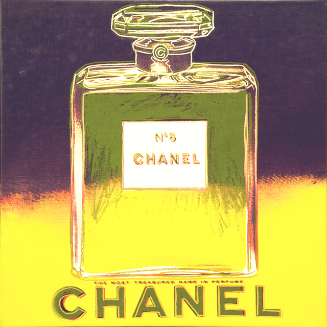 Andy Warhol, 'Ads-Chanel', 1985, Painting, Acrylic and silkscreen enamel on canvas, Collectors Contemporary