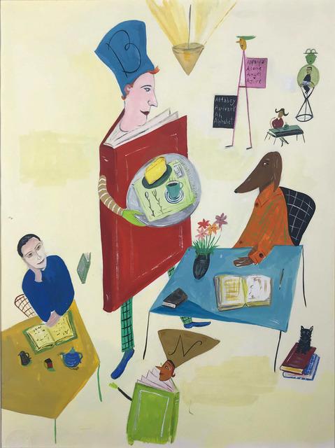 Maira Kalman, 'Barnes & Noble - Book Man', 1995, Doyle