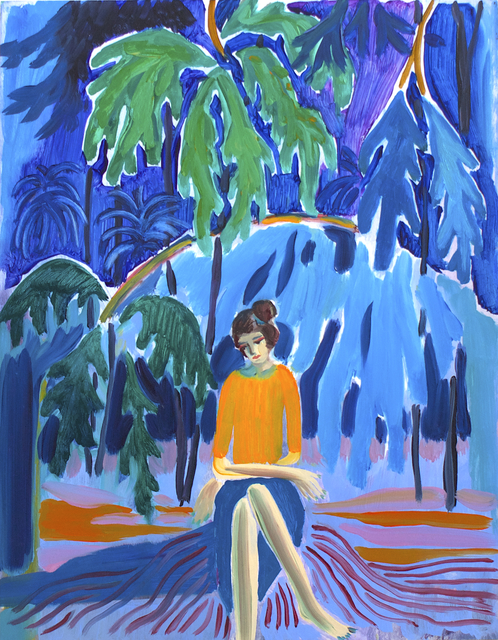 Freya Douglas-Morris, 'Yellow Jumper', 2018, Lychee One