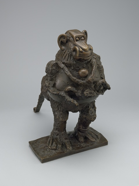, 'Baboon and Young,' October 1951, The Museum of Modern Art