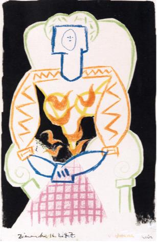 , 'La Femme au Fauteuil,' 1947, New River Fine Art