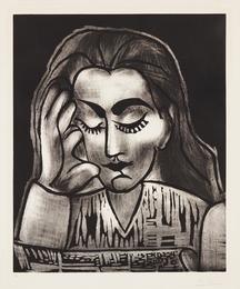 Jacqueline lisant (Jacqueline Reading)