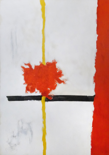 , 'High Snow-Low Sun A,' 1961, Hollis Taggart Galleries