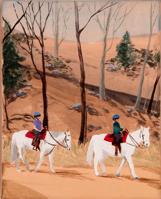 , 'Horseback Rides,' 2016, Dubner Moderne