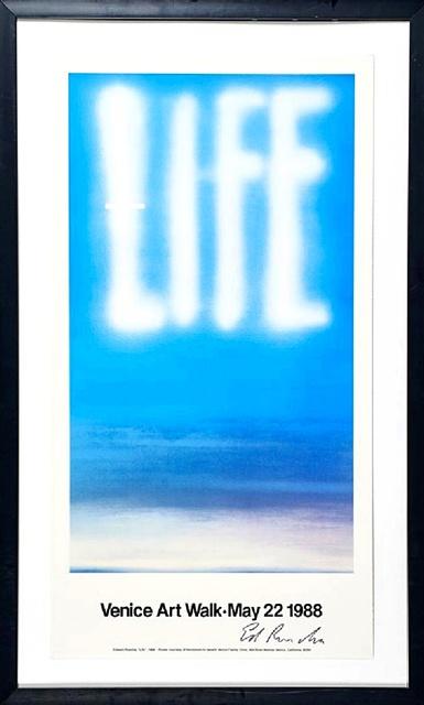Ed Ruscha, 'LIFE (Hand Signed) ', 1988, Alpha 137 Gallery