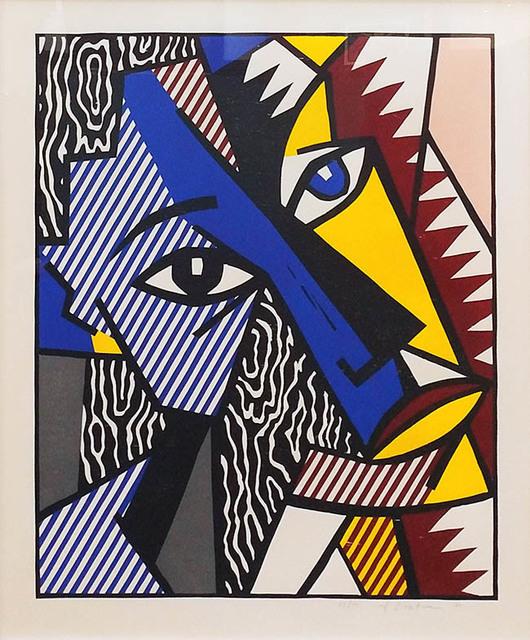 Roy Lichtenstein, 'HEAD', 1980, Marcel Katz Art
