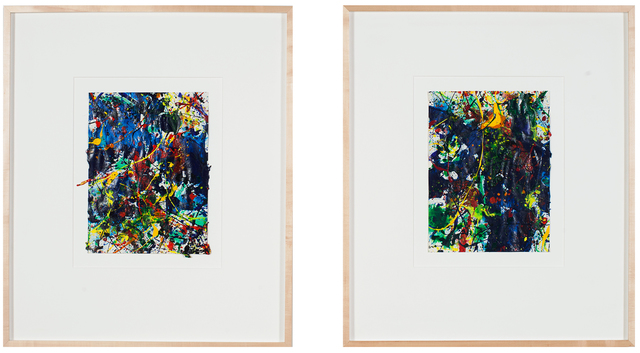 , 'Untitled (Diptych),' 1988-1989, Ochi Projects