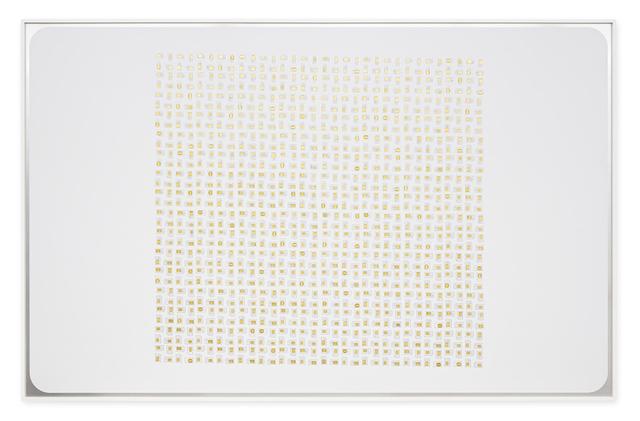 , 'PVA Composition (Tilt),' 2016, Nome