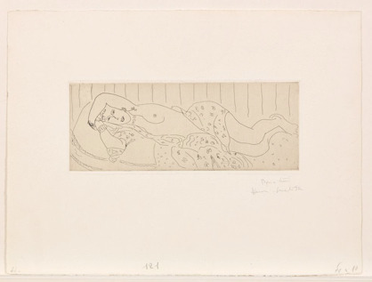 , 'Nu Couche, drape, dans une etoffe fleurie,' 1929, Galerie Maximillian