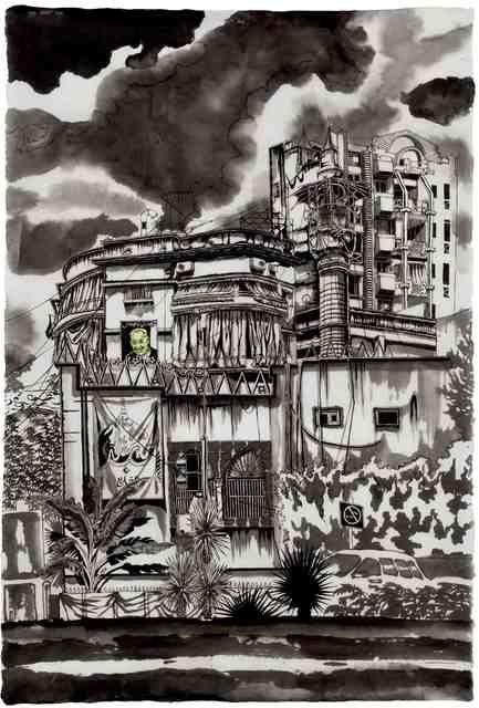 , 'Mosk, Beirut,' 2018, Galerie Céline Moine & LGFA