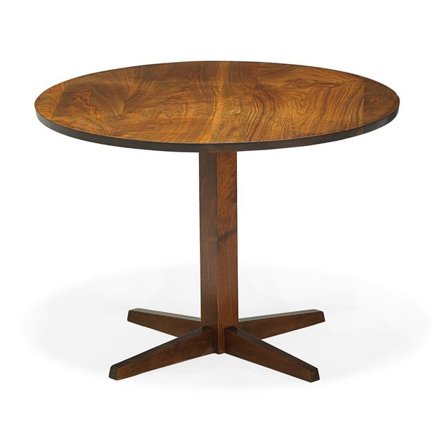 George Nakashima, 'Pedestal table, New Hope, PA', 1967, Rago