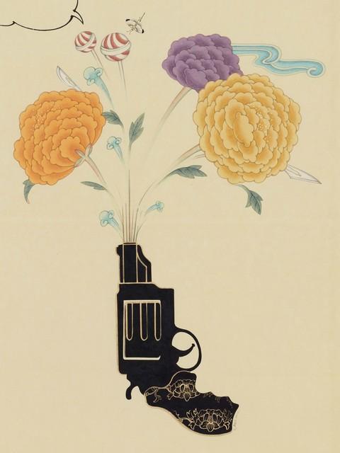 Seongmin Ahn, 'Inter-Relation Selfie 208', 2015, Susan Eley Fine Art