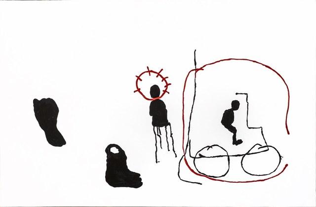 Gérard Quenum, 'D'ici et D'ailleurs', 2015, Art Twenty One