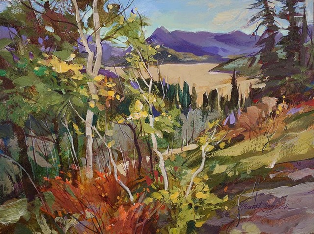 , 'Sibbald Overlook,' 2018, Wallace Galleries
