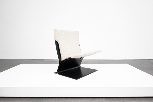 """, 'Stainless Steel """"Chauffeuse"""" Lounge Chair for Jacques Charpentier,' ca. 1973, Peter Blake Gallery"""