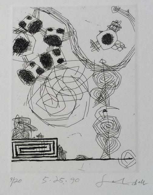 Frank Lobdell, '5.25.90', 1990, Dolby Chadwick Gallery