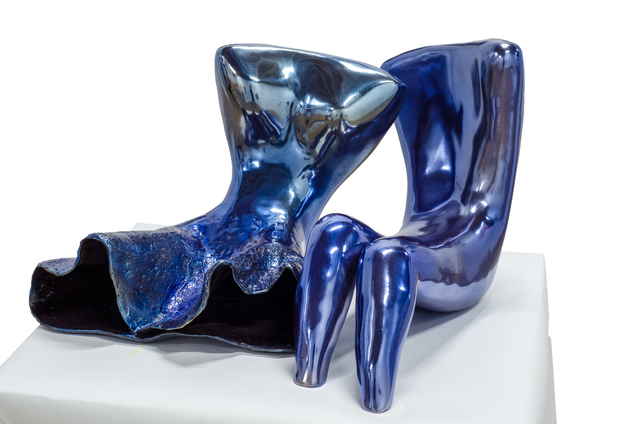 , 'Couple (Blue),' 2018, Rimonim Art Gallery