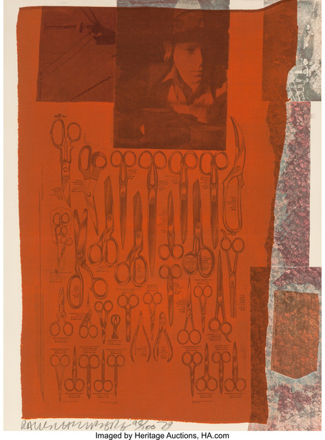 Robert Rauschenberg, 'More Distant Visible Part of the Sea, from Suite of Nine Prints', 1979, Heritage Auctions