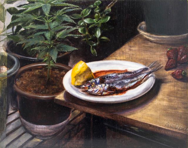 , 'Still Life with Sardines ,' 2015, Treason Gallery