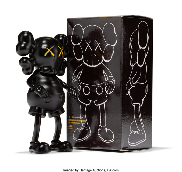 KAWS, 'Companion (Black)', 1999, Heritage Auctions