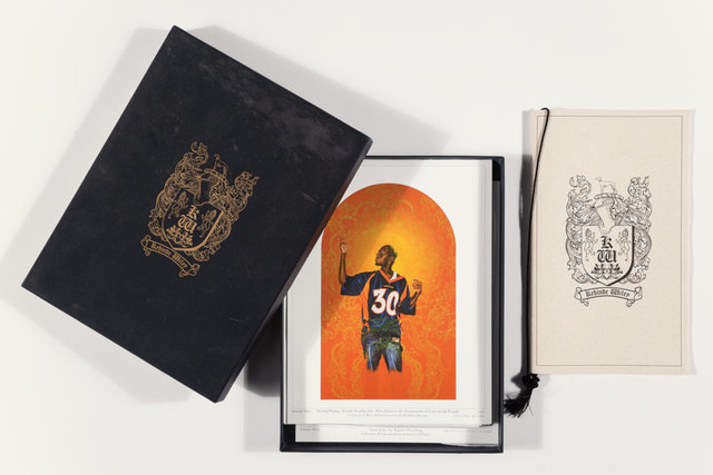 Kehinde Wiley, 'Pasing and Posing, exhibition posters (18 works)', 2004, Heritage Auctions