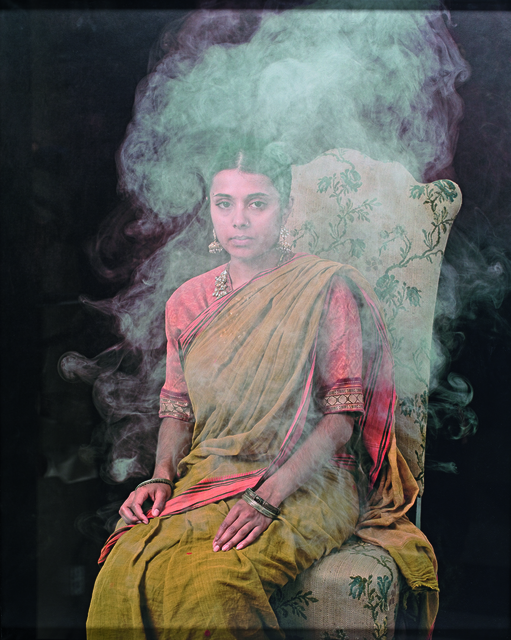, 'Portrait in Smoke and Steam,' 2006, Elgiz Museum