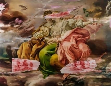 Simon Casson, 'Hazen II', 2016, Painting, Huile sur toile / Oil on canvas, Galerie de Bellefeuille