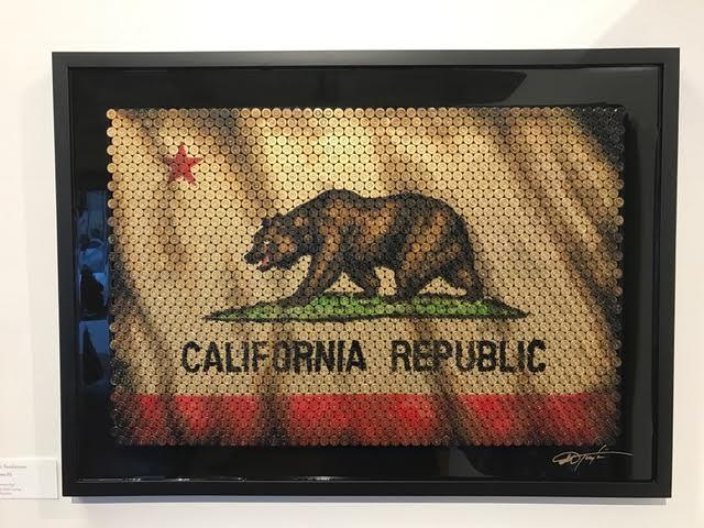 , 'California Republic,' 2017, The La Jolla Gallery