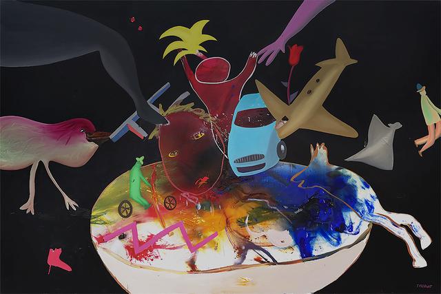 Michel Tyszblat, 'Assiette au heurt', 2007, Galerie Anna Tschopp