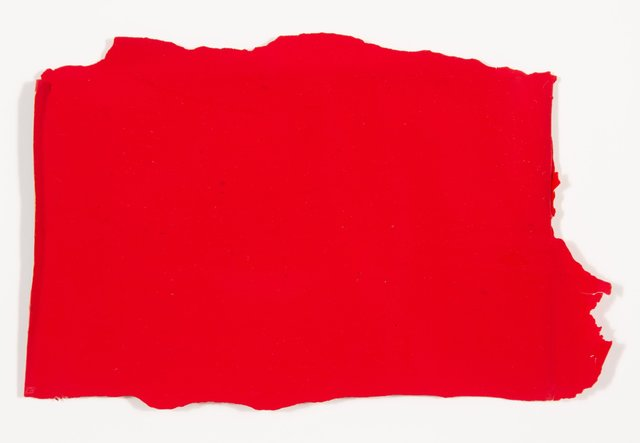 Abraham Cruzvillegas, 'Untitled', c. 2008, Painting, Red acrylic paint on newspaper, Heritage Auctions