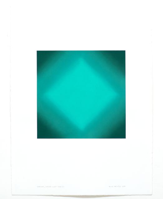 , 'Diamond, Green Light Series ,' 2018, Edward Cella Art and Architecture