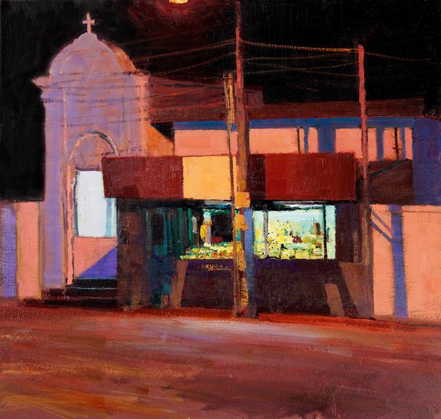 , 'Church Shrine & Shop, Kerala,' 2017, John Martin Gallery