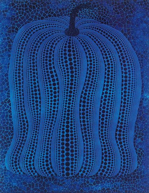 , 'PUMPKIN-BLUE 8/8 ,' 2006, Whitestone Gallery