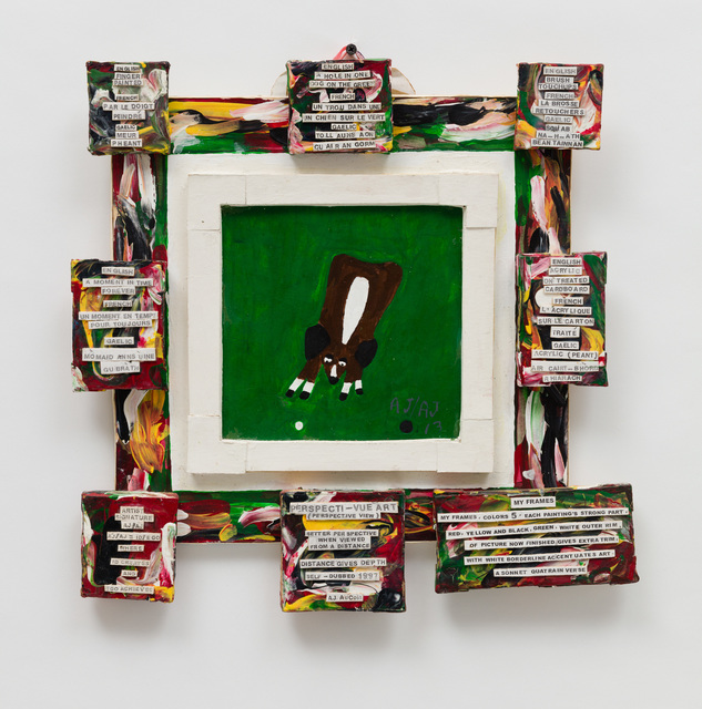 , 'Untitled (Dog on the Green),' 2013, The Good Luck Gallery
