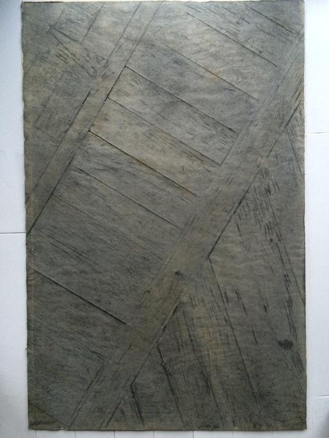 Françoise Janicot, 'Floor of the artist's studio', 1976, Richard Saltoun