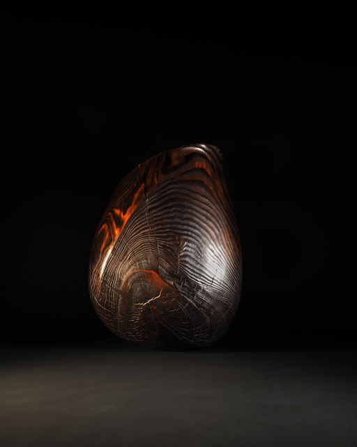 , 'Flamed Pine Vessel,' 2019, Sarah Myerscough Gallery