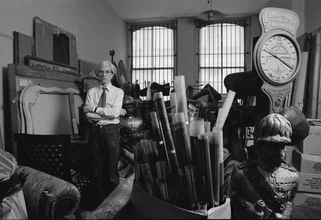 , 'Andy Warhol in Storage Room 1981,' 2015, Maison Gerard