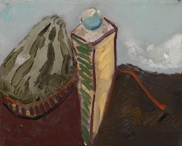 Maurice Cockrill, 'Rock, column, cloud', 1989, Waterhouse & Dodd