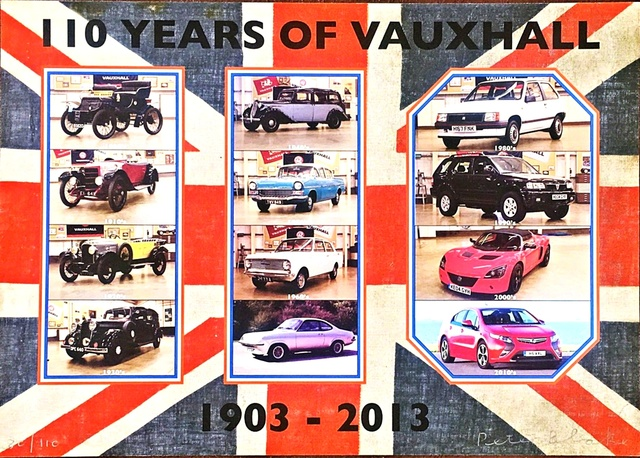, '110 Years of Vauxhall,' 2013, Alpha 137 Gallery