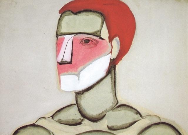 , 'Green Head,' 1956, Galerie Isabella Czarnowska