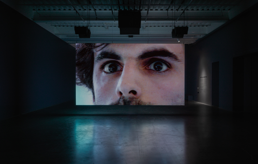 "Installation view of ""Anri Sala: Answer Me"" at New Museum, New York (2016)"