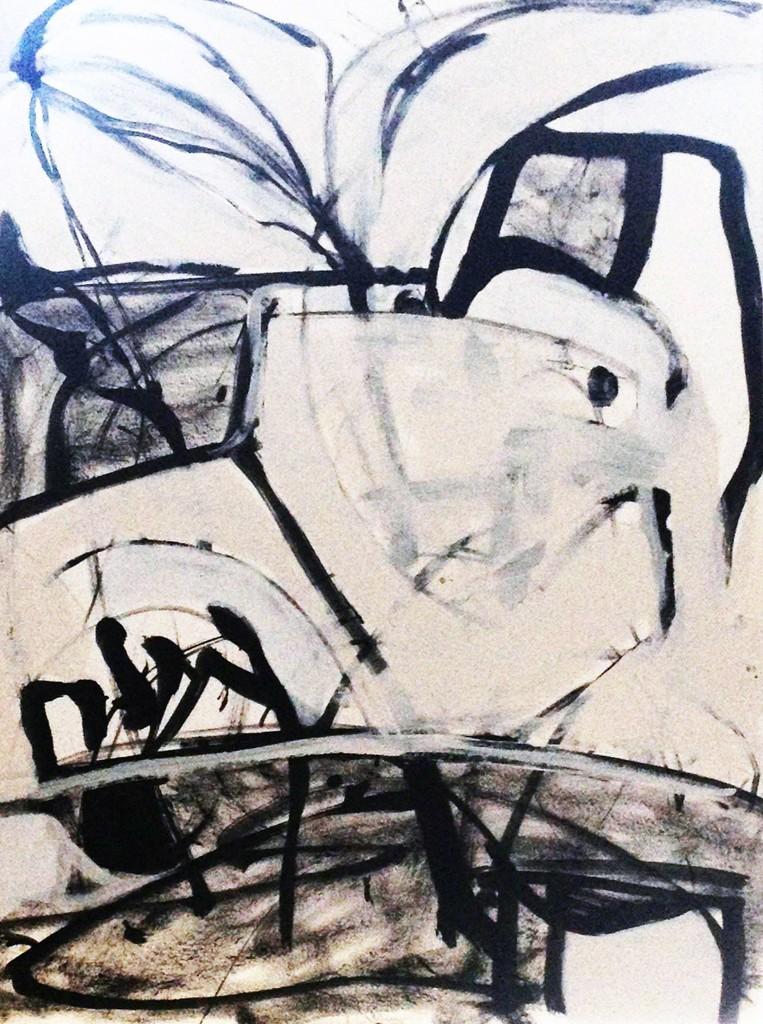 Claudia Mengel, 'La Blanc Histoire III,' 2014, The Lionheart Gallery