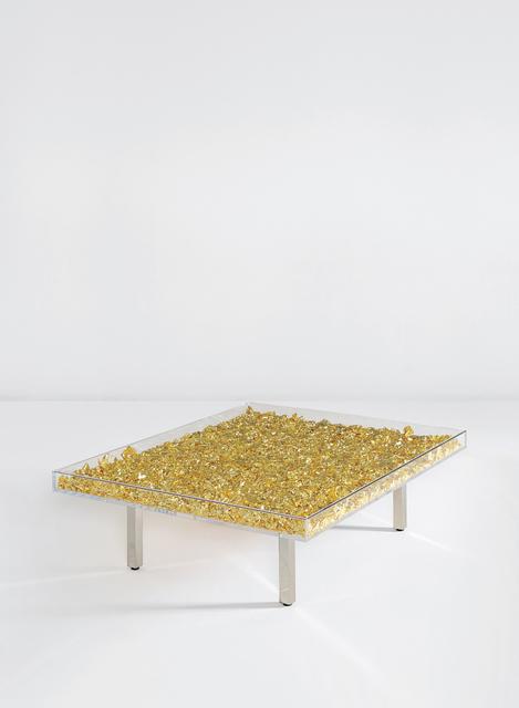 Yves Klein, 'Table Monogold TM', Designed in 1961, Phillips