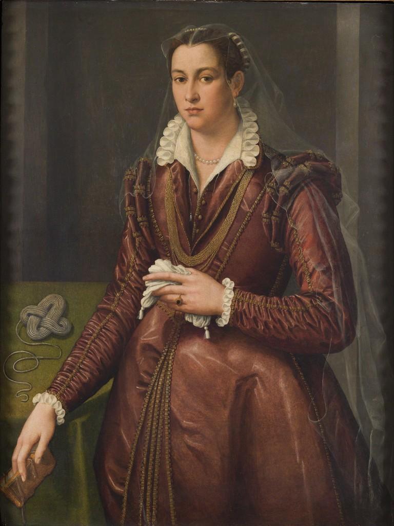 Bronzino, Ritratto femminile,cm. 86 x cm. 115