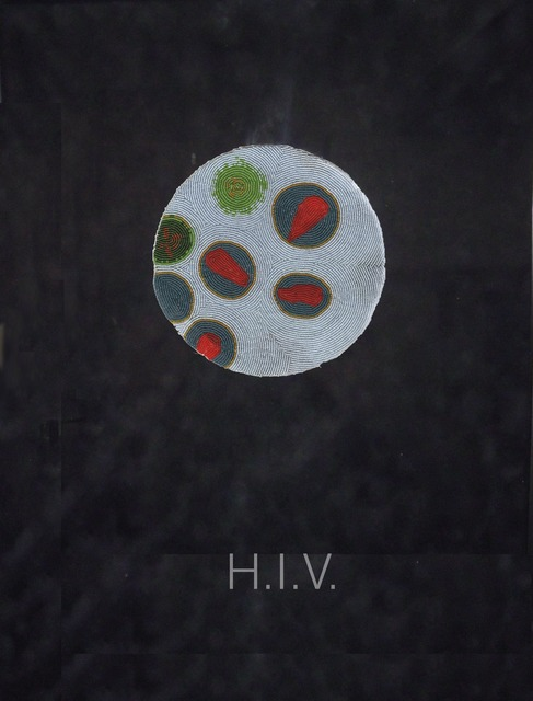 , 'HIV I,' 2013, dc3 Art Projects