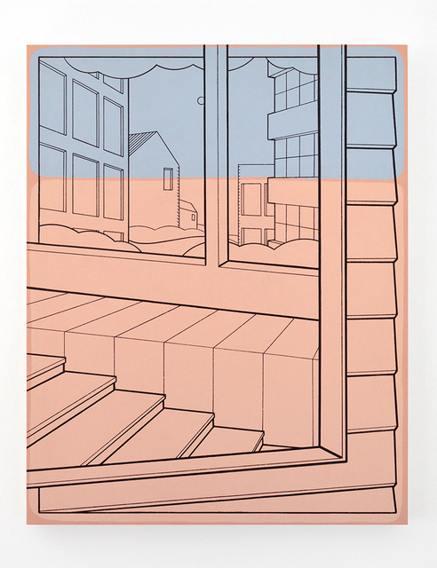 Heath West, 'Utopian Village (Dusk)', 2019, Galleri Urbane